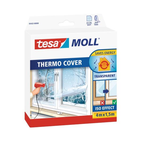 tesa thermo cover raamisolatie folie 400x150 cm ecomondo webshop. Black Bedroom Furniture Sets. Home Design Ideas