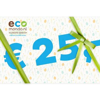 eco cadeaubon 25