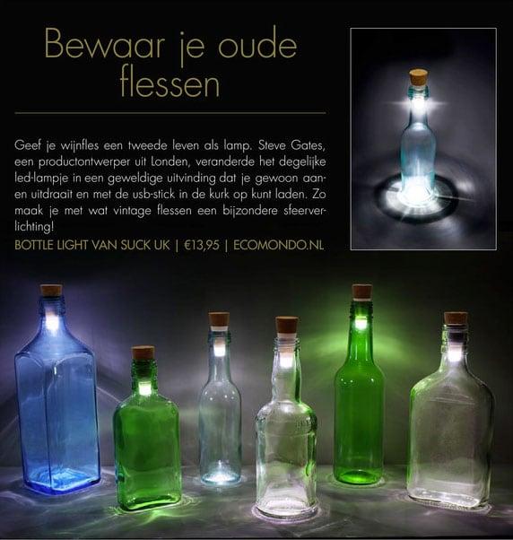bottle light mitra ecomondo