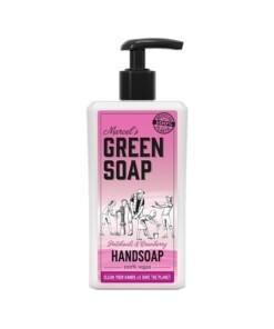 marcel's green soap handzeep 500ml patchouli cranberry
