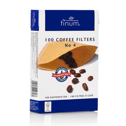 ongebleekte koffiefilters nr4