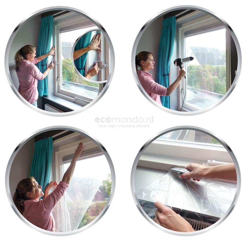 enkelglas isolatie ramen