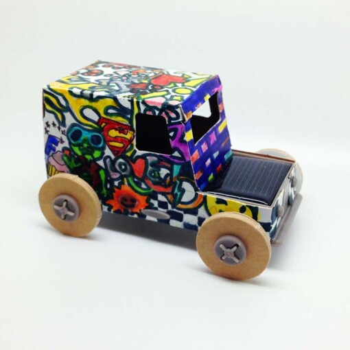 solar auto bouwpakket