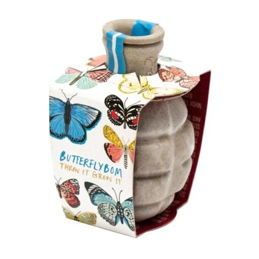 seedbom butterflybom - zaadbom vlinders