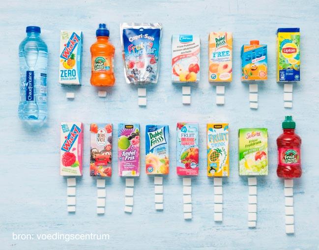 drinkpakjes suiker