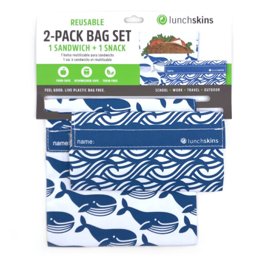 lunchskins set blue whales
