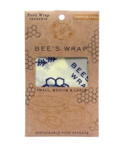 beeswrap starterset bears & bees