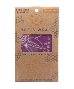 beeswrap assorted 3 pack mimi's purple