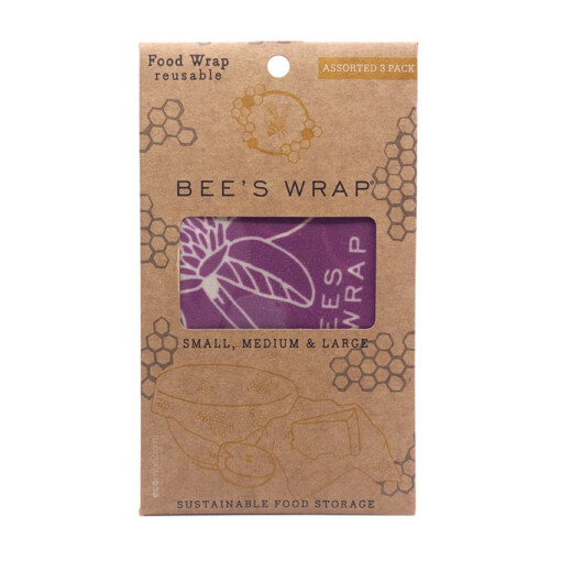 beeswrap assorted 3 pack mimi's purple