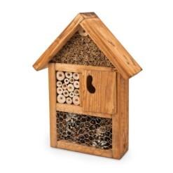 insectenhotel en bijenhotel