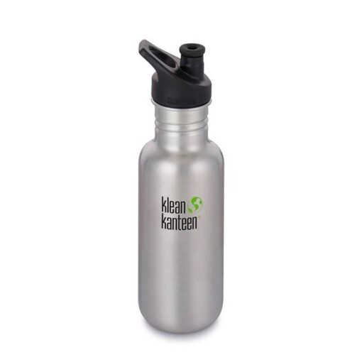 klean kanteen 18oz brushed steel