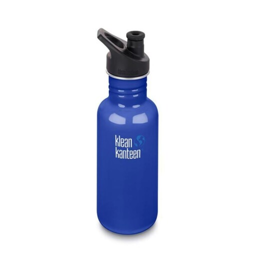 klean kanteen 18oz coastal waters blauw