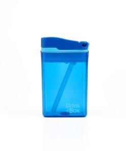 drink in de box herbruikbaar drinkpakje small blauw