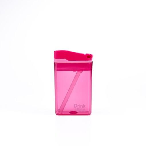 drink in de box herbruikbaar drinkpakje small roze