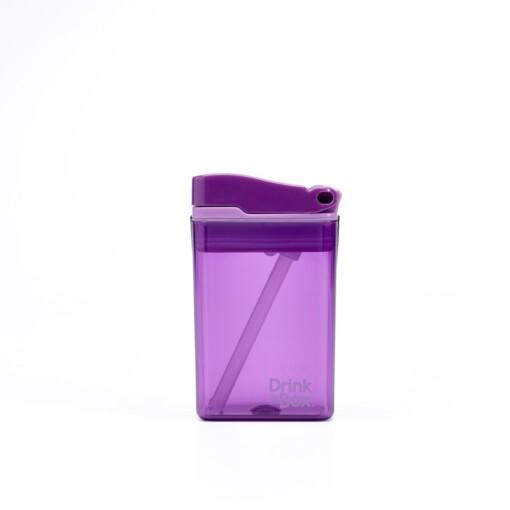 drink in de box herbruikbaar drinkpakje small paars