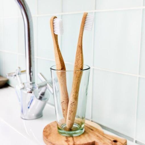 nextbrush bamboe toothbrush