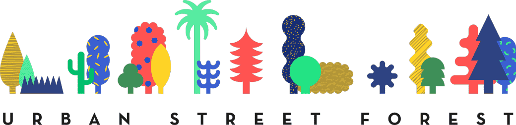 urban street forest logo