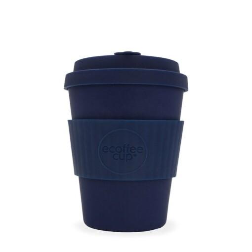 EcoffeeCup 12oz Dark Energy herbruikbare koffiebeker
