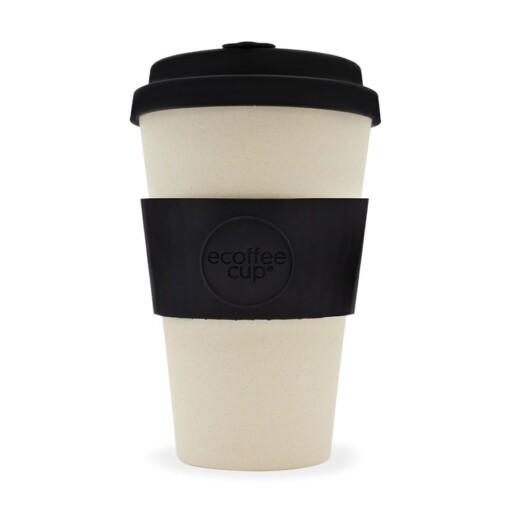 EcoffeeCup 14oz Black Nature