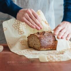 bees wrap brood verpakken zonder plastic