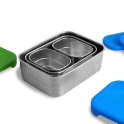 blue water bento eco lunchbox splash box