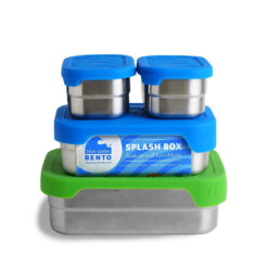 blue water bento eco lunchbox splash box
