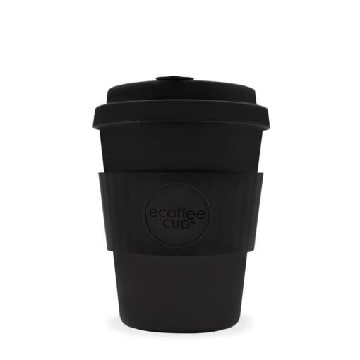 eCoffee 12Oz Kerr And Napier zwarte koffiebeker Zwart