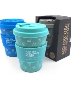 ecoffee cup met logo bedrukken