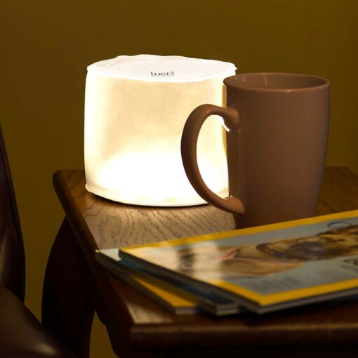 luci lux campinglamp