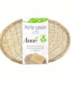 plasticvrij zeepbakje van Luffa - anae porte savon