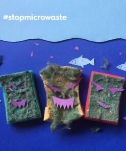 stop plastic vervuiling goedkope schuursponsjes