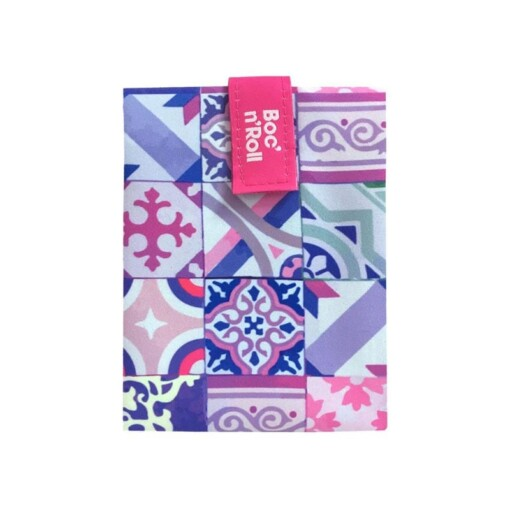 boc n roll patchwork pink