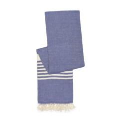 happy towels biokatoen donker denim