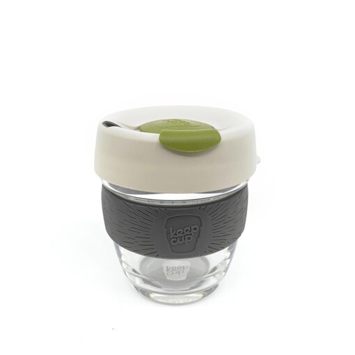 keepcup brew glass olive