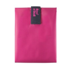 bocnroll square pink sandwich wrapper