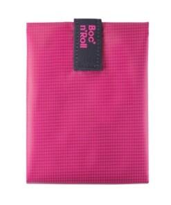 bocnroll square pink sandwich wrapper