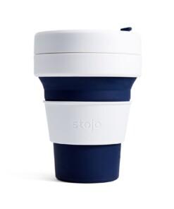 stojo pocket cup koffiebeker indigo