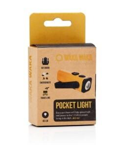wakawaka pocket light oplaadbare zaklamp
