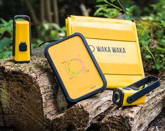 wakawaka zonnelader