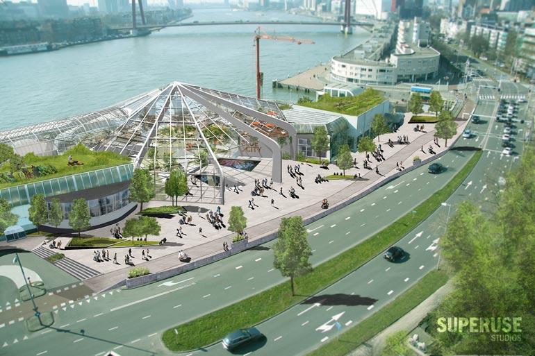 Bluecity Opent De Eerste Circulaire Kantoren Van Rotterdam