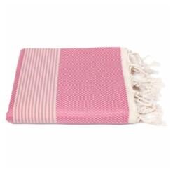 roze hamamdoek bamboe biokatoen