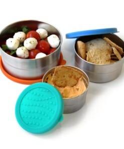 seal cup trio food