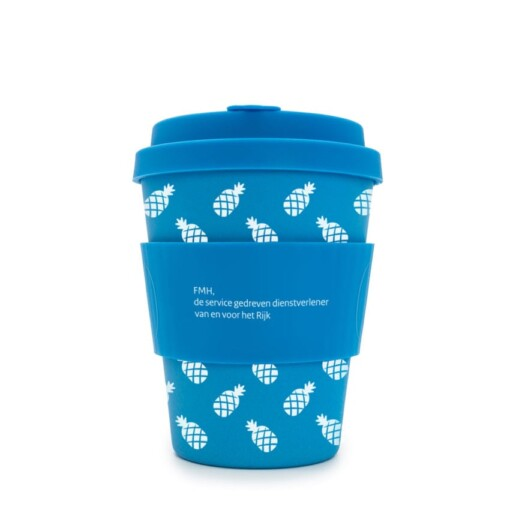 herbruikbare koffiebeker met logo