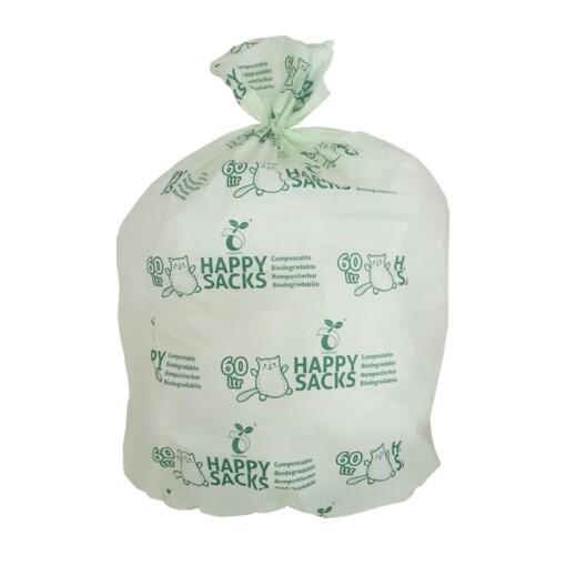 groene GFT zak 60 liter
