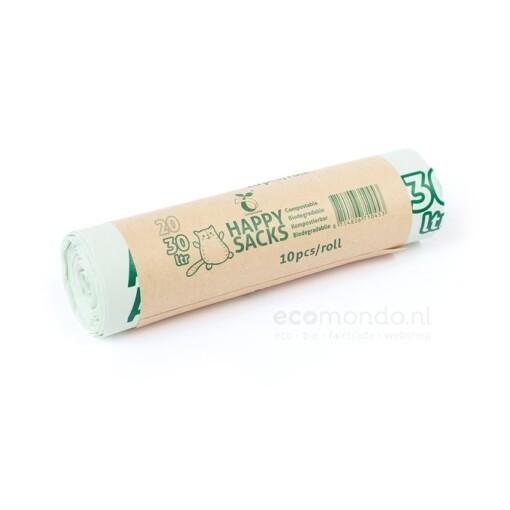 happysacks biobak gft zakken 20 30 liter