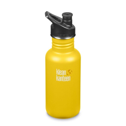 klean kanteen classic 18oz lemon curry