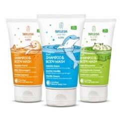 weleda kids shampoo bodywash