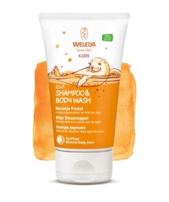 weleda kids shampoo bodywash sinaasappel