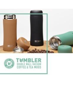 tumbler thermo coffee mug