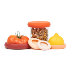 FoodHuggers TerraCotta zerowaste deksels